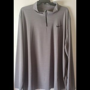 Nike Breathe Dri-FIT 1/4 Zip Jacket Mens Size 4XL